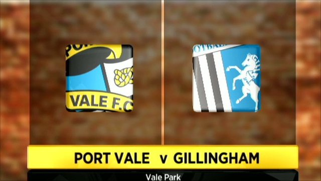 Port Vale 0-0 Gillingham