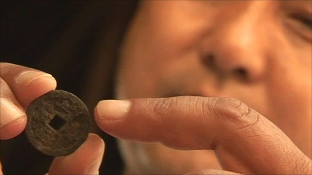 Could a rusty coin re-write Chinese-African history?