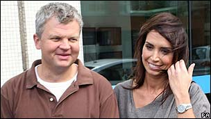 Daybreak hosts Adrian Chiles and Christine Bleakley