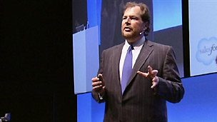 Salesforce CEO Marc Benioff