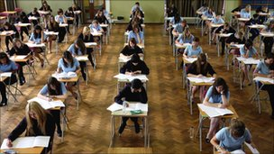 Exam hall (file image)