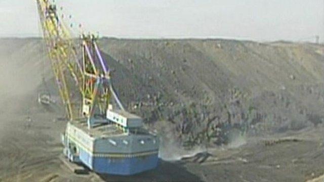 Iron ore mine