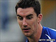 Birmingham City defender Liam Ridgewell
