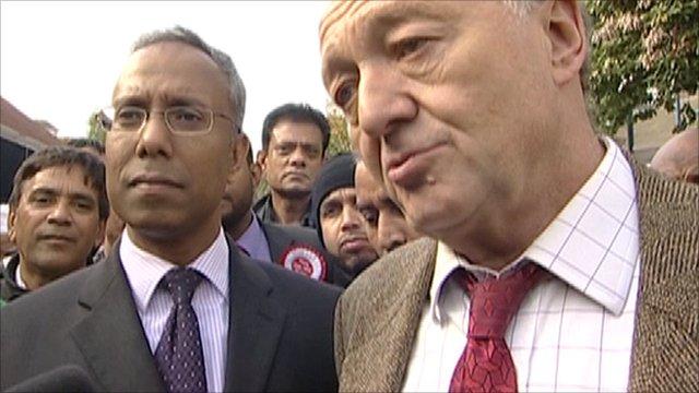 Lutfur Rahman and Ken Livingstone