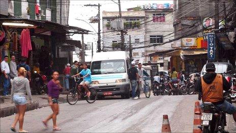 Rocinha street