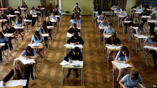 Students taking A-levels