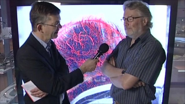 Nick Higham and Iain Banks