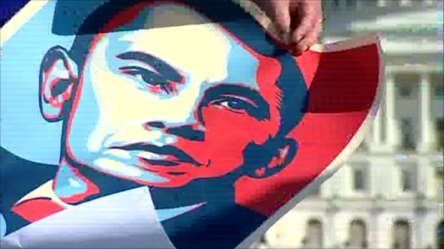 Obama's mid-term election poster