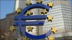 Euro symbol outside the European Central Bank in Frankfurt