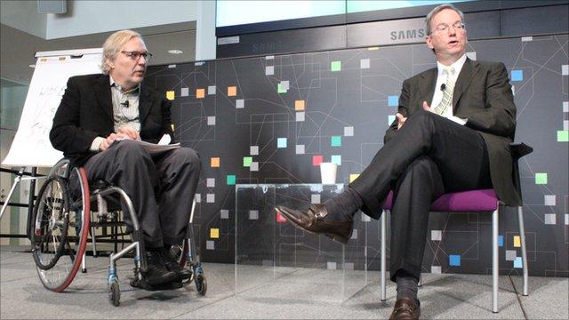 NPR's John Hockenberry Eric Schmidt