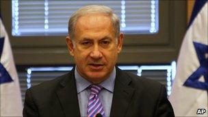 Benjamin Netanyahu, 18 October 2010