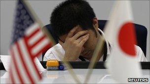Japanese economy 'at standstill'