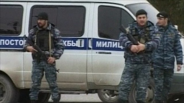 Attack on Chechen parliament in Grozny leaves six dead