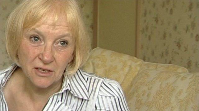 Tina Billinge, victim of online security scam