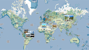 Protected Planet website (Image: Unep)