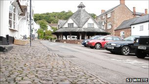 The Dunster cobbles