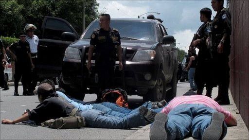 Police make arrests in Guatemala City