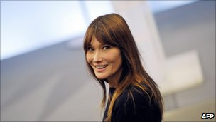 Carla Bruni, file image