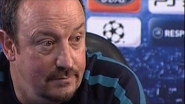 Ex-Liverpool boss Rafael Benitez
