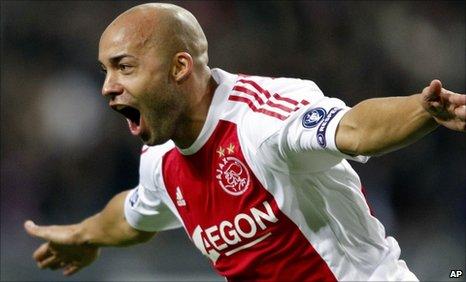 Ajax scorer Demy de Zeuuw