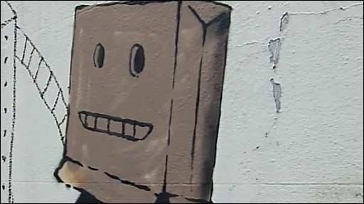 Banksy grab