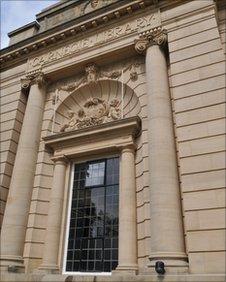 Harrogate Library facade. Copyright: North Yorkshire County Council