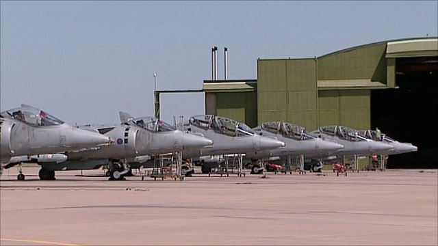 Harriers at RAF Wittering