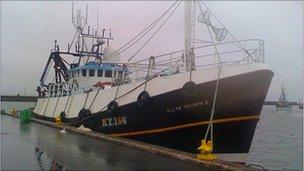 John Kirkwood's fishing boat - Ocean Triumph 11
