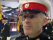 Marine Warrant Officer Matthew Tomlinson