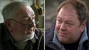Ian and Mark Addy