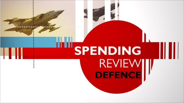 Defence spending review graphic