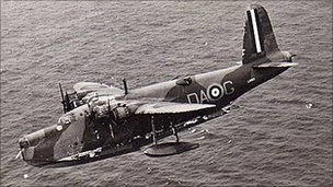 Sunderland Flying Boat - Photo courtesy of the Pembroke Dock Sunderland Trust