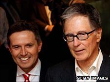 Christian Purslow (left) and John W Henry (right)