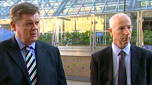Paul McKeever and John Graham