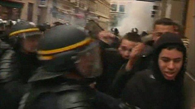 Lyon clashes