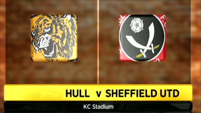 Hull 0-1 Sheffield United