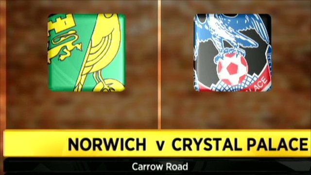 Norwich City vs Crystal Palace