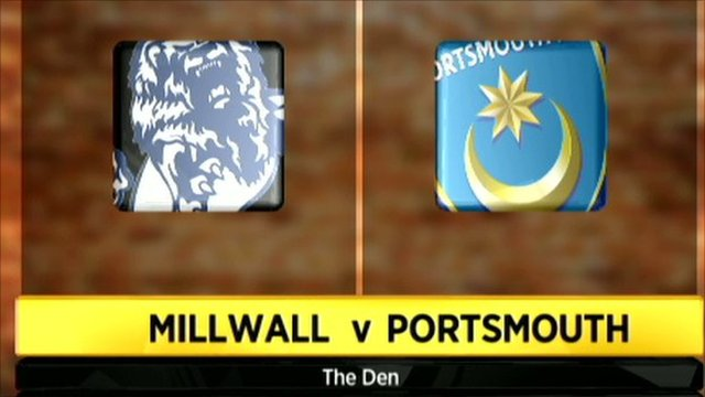 Millwall 0-1 Portsmouth