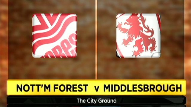 Nottingham Forest 1-0 Middlesbrough