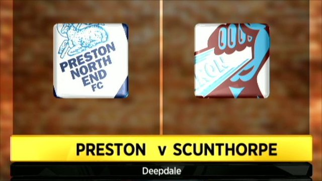 Preston 2-3 Scunthorpe