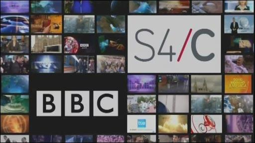 Logo a rhaglenni BBC a S4C