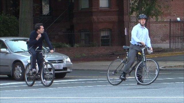 Washington DC cyclists