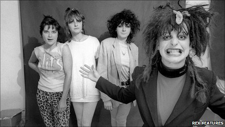 Ari Up, right, and The Slits
