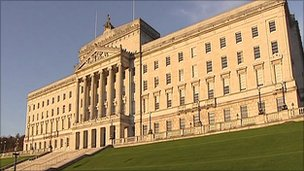The Treasury says the NI executive's budget has been cut by just under 7%