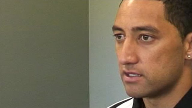 New Zealand captain Benji Marshall