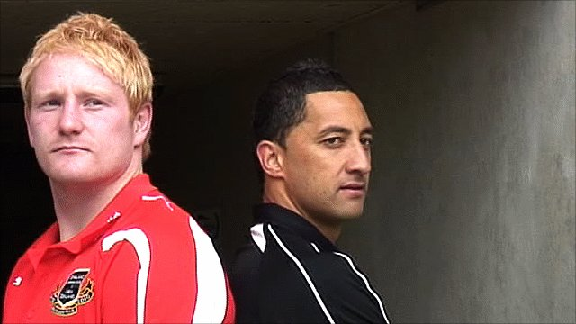 England skipperJames Graham and New Zealand captain Benji Marshall