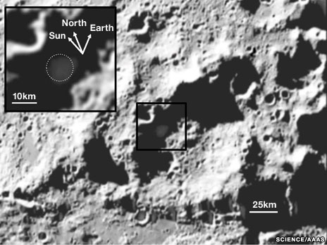 Moon's water is useful resource, says Nasa