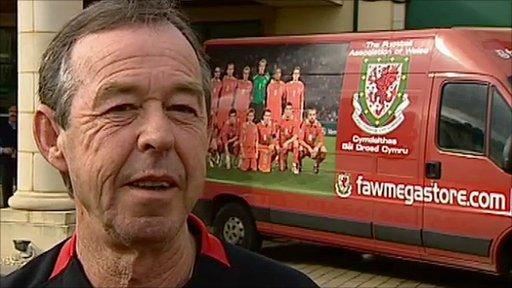 Wales caretaker-manager Brian Flynn