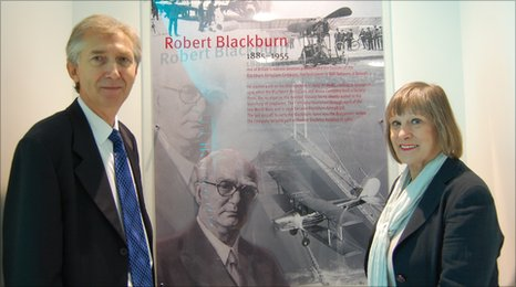 Professor Robert Blackburn and Janie Rayne