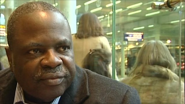 Suspended Fifa official Amos Adamu